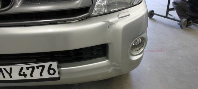 Ein Fall für Smart-Repair – Leasingrückläufer Toyota Hillux