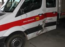 Unfallinstandsetzung eines Mercedes Sprinter