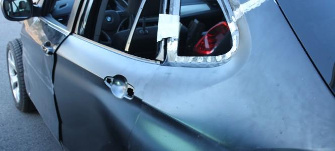 Karosserieinstandsetzung BMW Limousine